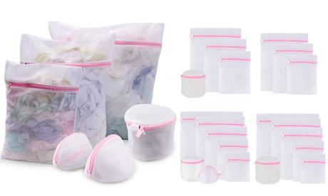 Zipped Wash Bag Net Laundry Washing Mesh Lingerie Underwear Bra Clothes Socks