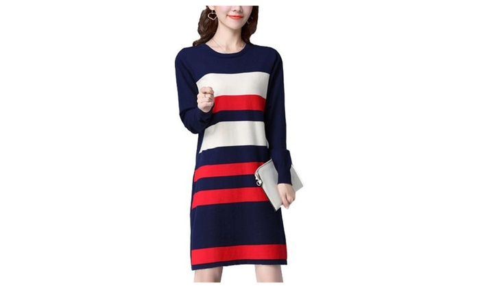 Women's Classic Printed Striped Fashion Pullovers
