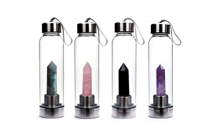 Natural Crystal Point Healing Obelisk Wand Elixir Quartz