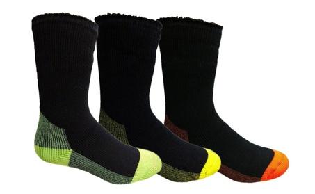 Yacht 3 Pairs Mens Heat Retainer Winter Thermal, Boot Socks fbc53968-9a94-4d71-9a5f-75b8ca1abc35