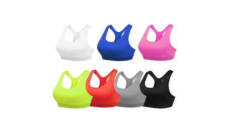 FITTIN Racerback Sports Bras - Padded Seamless High Impact bcf69bff-d053-465c-975b-98fa6573edef