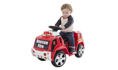 Ride on Toy, Fire, Police, or SWAT Truck for Kids, Battery Powered Ride on Toy 972b3694-0b10-4da6-a748-70bc4e99128b
