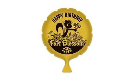 """Birthday Fart Blossom Whoopee Cushion 8"""" - 6 Pack (1/Pkg) e00c6b13-20f6-418f-8dab-ff030d842ebf"""