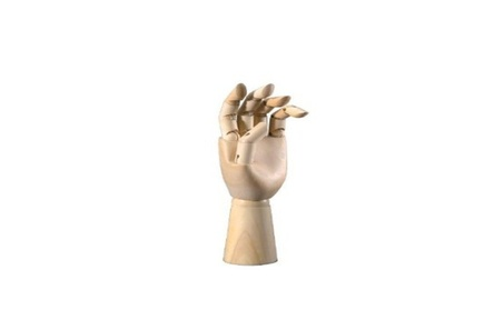 Alvin CW302 Hand Mannequin 12 Male Left 758a0c38-08ed-4607-bc1f-a0aac3bf00bb