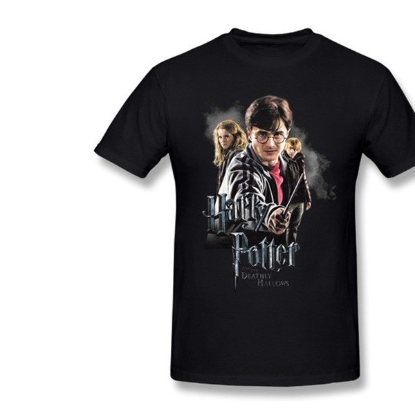 Harry Potter DEATHLY HOLLOWS CAST Licensed Women/'s T-Shirt All Sizes