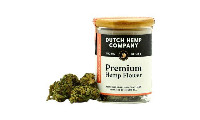 DUTCH HEMP PREMIUM HEMP FLOWER 19% 3 5 Or 7 Grams | Groupon