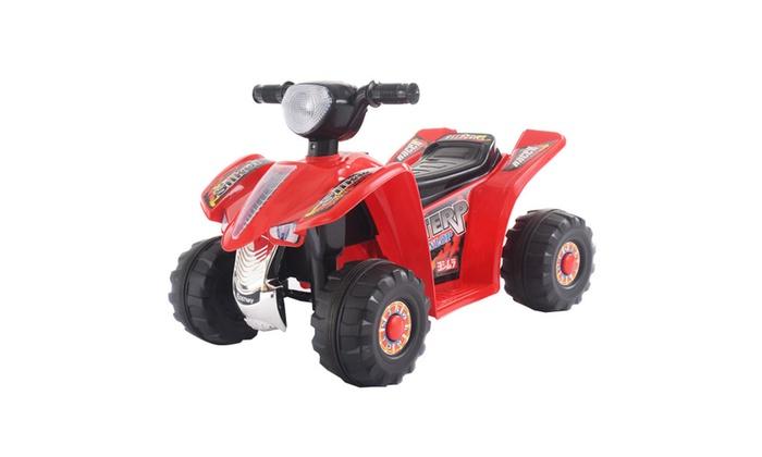 ffffd1e17 6V Kids Ride On ATV Quad 4 Wheeler Electric Toy Car Battery Power ...