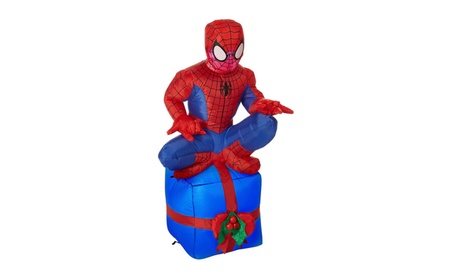 Gemmy 88700 Holiday Spider Man on Chimney 3.5 ft. 147afcc0-d463-41fd-9acf-7f336091d03b