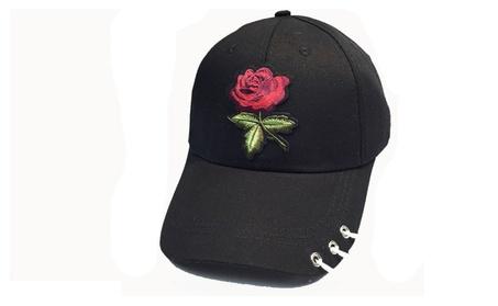Summer Hip Hop Black White Pink Baseball Caps Hats For Women cf03f96b-6a00-4e95-9d70-323f5adc0c33