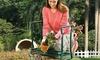 iMounTEK Foldable Garden Kneeler Seat, EVA Padded Bench, Stool with Tool Pouch