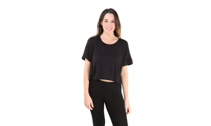 247 Comfort Apparel Womens Plus Size Dolman Sleeve Top Groupon