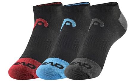 6 Pairs: HEAD Men's Athletic Moisture-Wicking Quarter/Athletic Socks c8a782b0-6186-432e-8f31-e44b681f1ddc