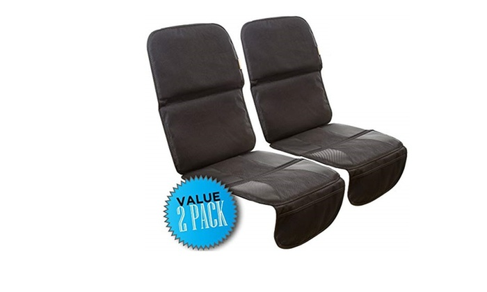 Zohzo Child Infant Car Seat Protector 2 Pack