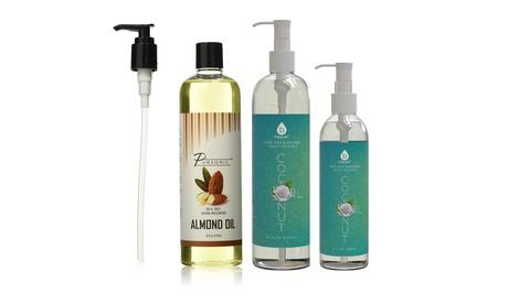 Pursonic 100% Pure Fractionated Coconut Oil/ Sweet Natural Almond Oil 04e89088-d279-4267-a0c2-b4d8e116ac91