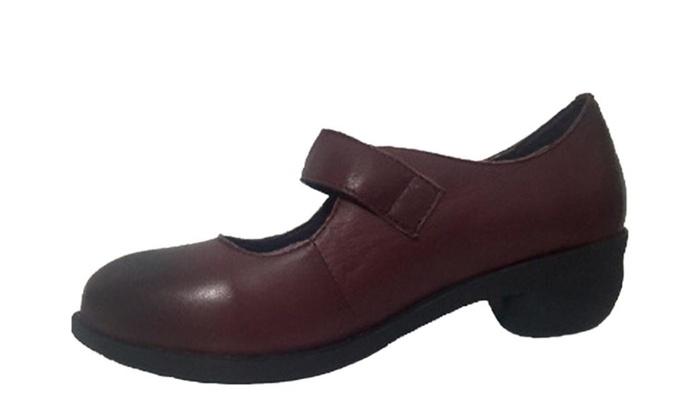 Women's Handmade Low Heel Pumps Shoes