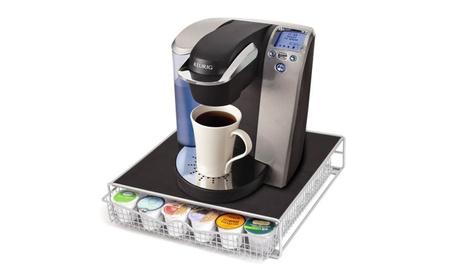 New 36 K Cup Holder Rack Storage for Keurig Coffee Pod Chrome Drawer 0670abdc-eef6-47bb-9825-cb7c0b266f8e