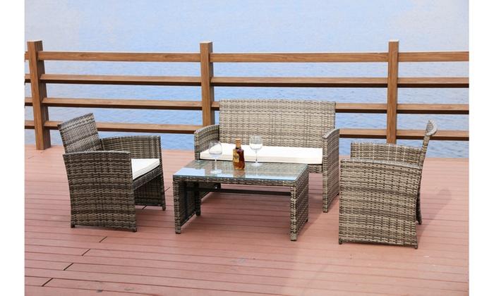 up to 45 off on outdoor leisure set 4 piece groupon goods rh groupon com