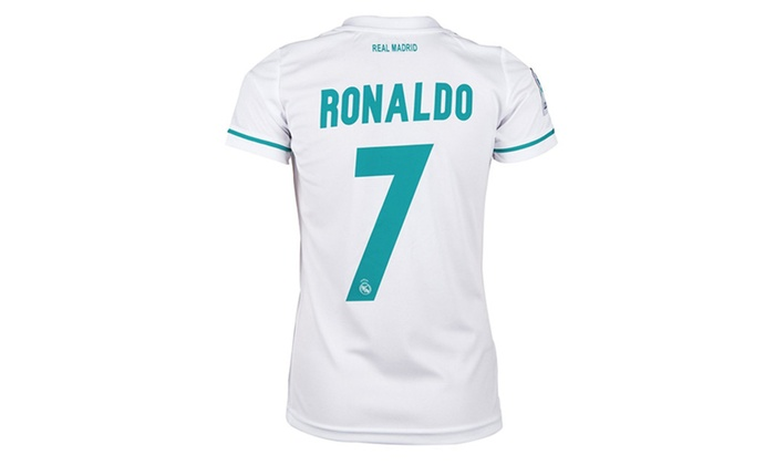 the best attitude dbc73 f5503 Real Madrid Home Ronaldo 7 Soccer Jersey & Matching Shorts ...