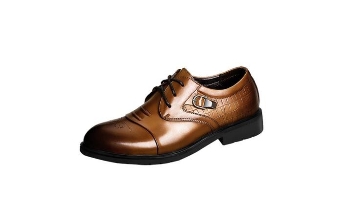 Men's Classic Lace Up Dress Shoes