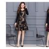 Women Printed Halter Skirt Short Skater Dress- KMWD138-KMWD142