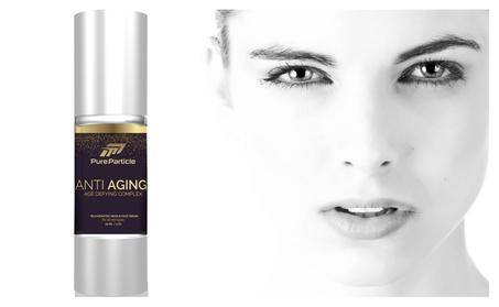 Pure Particle Anti Aging Facial Cream for Premium Skin Care Treatment