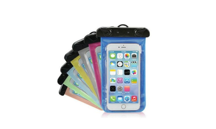 detailed look f8326 69686 Waterproof Underwater Cell Phone Pouch Bag Pack Case Cover   Groupon