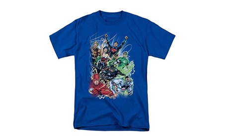 DC Comics Justice League New 52 #1 T-Shirt 6ab272af-536f-456f-b91b-aed938a70d81