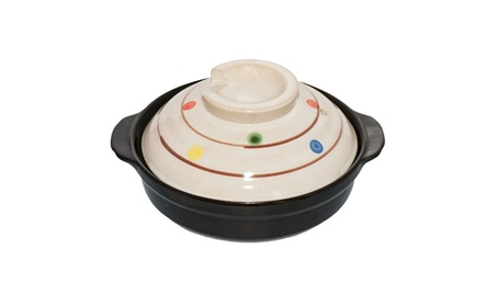 Japanese hot pot ceramic earthenware pot for one person, Donabe f8910189-ee87-433b-8982-1e40a7e2a483