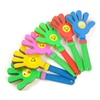 Baby Rattle Toys Ringing Clap Palm Rattles Hand 6pcs