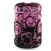 Insten Design Hard Case For BlackBerry Bold Touch 9900/9930 - Purple/Black