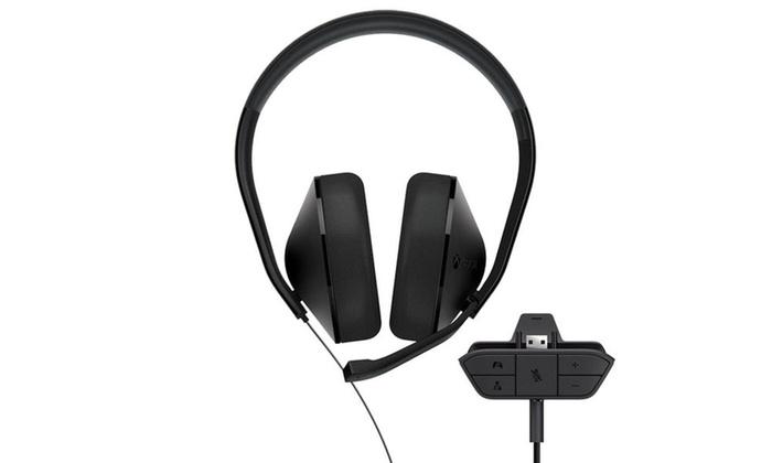Microsoft Xbox One Stereo Headset w/ Headset Adapter (Refurbished ...