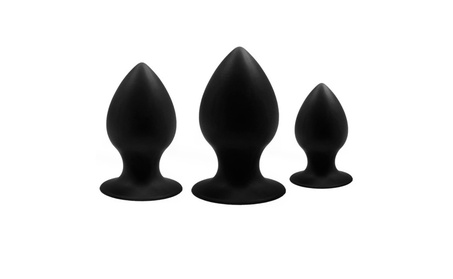 Silicone Anal Toys Anal Trainer Kit Anal Plugs(Three-piece Suit) 5429ab8d-766a-4706-bc2e-a2ef1033f274