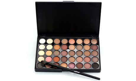 40 Colors Fashion glitter and Matte Eyeshadow Palette Makeup Set