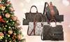 Marco collection Holiday season Signature M handbag and Wristlet set