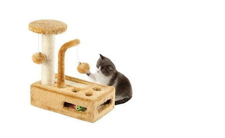 Cat Scratching Post Complete Cat Playground fd089d1b-3daf-4e21-b77d-654113f1ec85