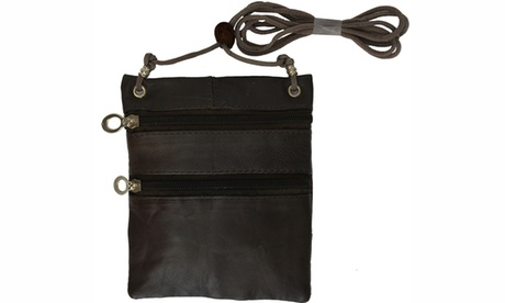 Small Soft Leather Cross Body Purse (Goods Women's Fashion Accessories Handbags Cross-Body) photo