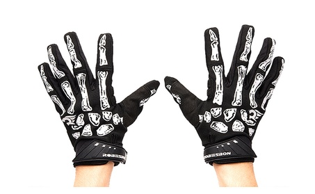 Bicycle Motorcycle Riding Protective Gloves Black 7b982603-48a5-4936-bbe1-1a405e061d39