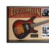 Led Zeppelin Signed Guitar by the Original 4 Members in Framed Case -