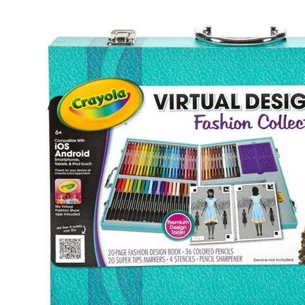 Crayola Virtual Design Art Set Traveling Kits Groupon
