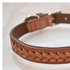 Heaven Braid Leather Collar