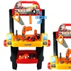 Velocity Toys 2-in-1 Rolling Cart & Workbench Children's Kid's Pretend Playset