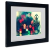 Beata Czyzowska Young 'The Magic is On' Matted Black Framed Art