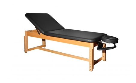 BestMassage Leather Stationary Massage Table Spa Beaty Facial Bed 02c84a37-5842-4f0b-8053-9c71c1b1bcd4