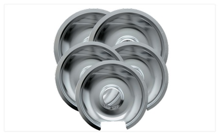 Range Kleen 10565X GE-Hotpoint-Kenmore Chrome Drip Pan photo