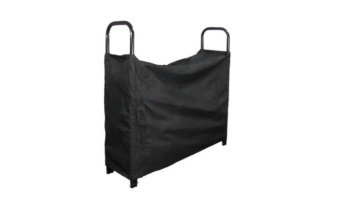 Sunnydaze Log Rack Cover
