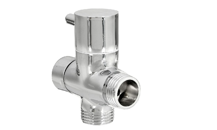 Brass 3 Ways Shower Head Diverter Valve ...