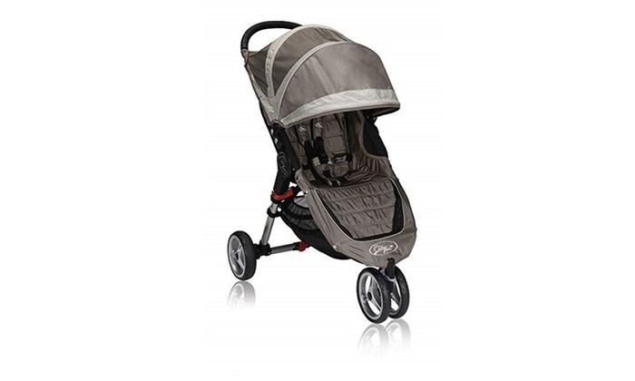 Baby Jogger City Mini Single Stroller Sand Stone