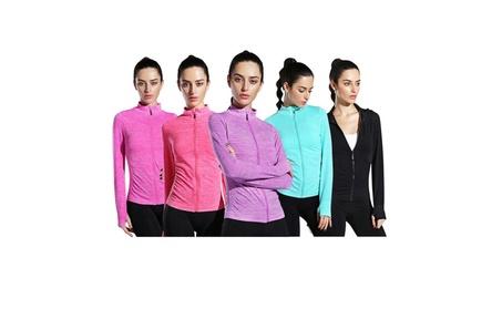 LINGO Yoga Zipper Clothing Women's Sports Coat Fitness Clothes 19717d9b-3094-4521-89ce-1a1621d563d8