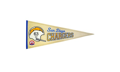 Winning Streak - MLB Throwback Pennant, San Diego Chargers c48bed2b-86d2-459c-8fae-2de41a69547a