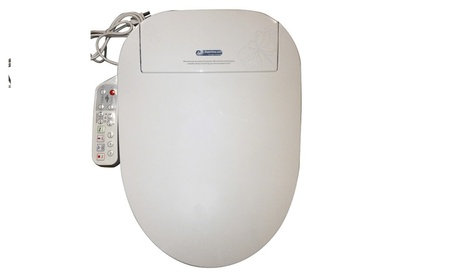 BIDET4ME E-300A Elongated Electronic Bidet Seat w Dryer & Deodorizer photo